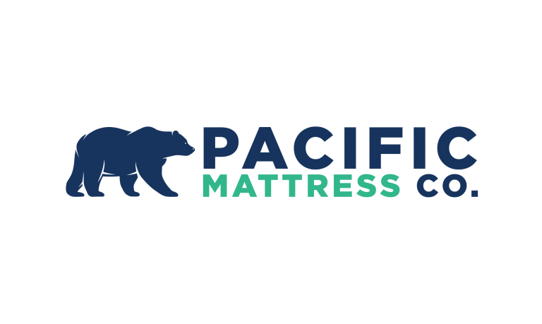 Logo for a mattress company
